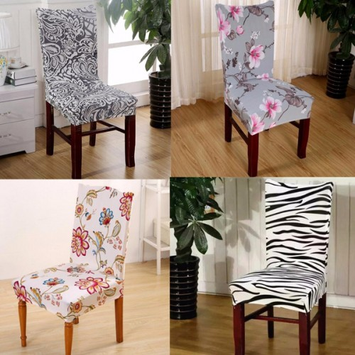 Polyurethane Stretch Spandex Banquet Elastic Chair Seat Cover Party Dining Ro