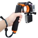 TMC HR391 Shutter Trigger Floating Hand Grip / Diving Surfing Buoyancy Stick with Adjustable Anti-lost Hand Strap for GoPro HERO4 /3+ /3, Xiaomi Xiaoyi Sport Camera (Orange)
