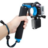 TMC HR391 Shutter Trigger Floating Hand Grip / Diving Surfing Buoyancy Stick with Adjustable Anti-lost Hand Strap for GoPro HERO4 /3+ /3, Xiaomi Xiaoyi Sport Camera (Blue)