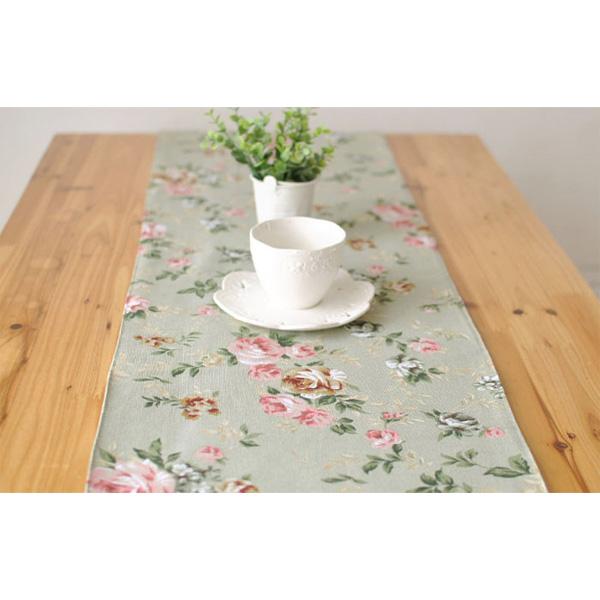 Elegant Rose Cotton Linen Table Runner Desk Cover Heat Insulation Bowl Pad Tableware Mat