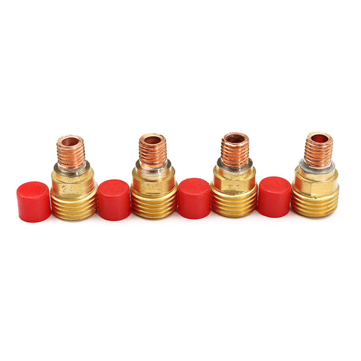 18Pcs TIG Gas Lens Collet Welding Torch Fit For WP-9//20//25 Lanthanate Tungste
