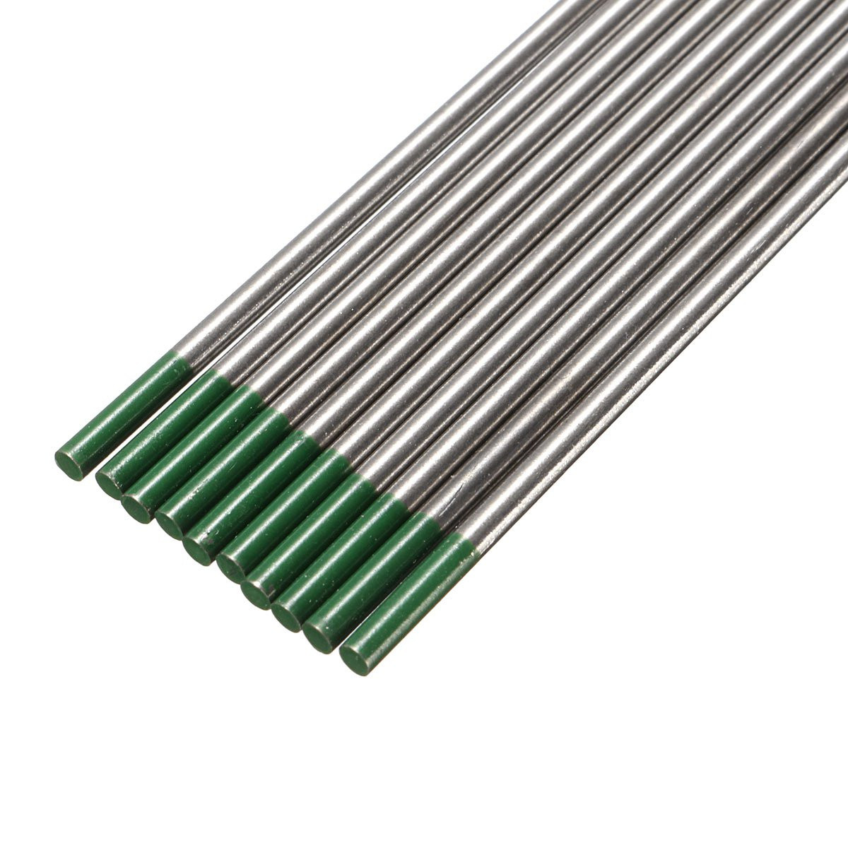 10pcs 175 wp green welding tungsten electrode welding electrodes alex nld. Black Bedroom Furniture Sets. Home Design Ideas