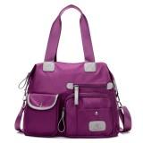 Women Nylon Lightweight Multi-Pocket Big Capacity Handbags Crossbody Bags