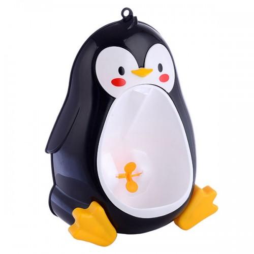 Baby Urinal Toddler Potties Boys Pee Trainer Children Removable Lovely Penguin Toilet Bathroom