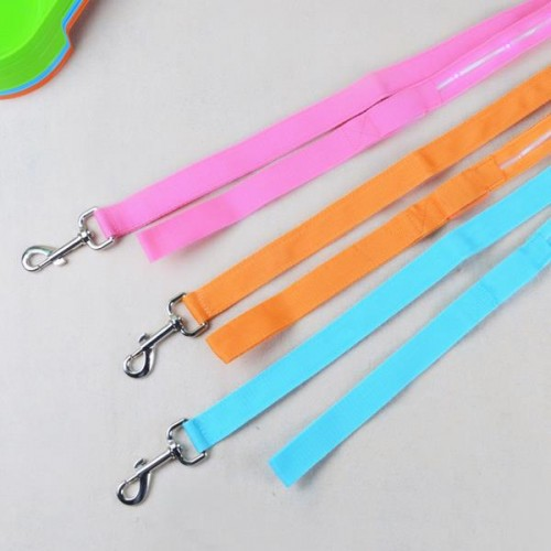 Dog Harness For Golf Cart >> 1.25M Nylon Flashing Lighting LED Pet Cat Dog Leash Rope Harness Lead Strap | Alexnld.com