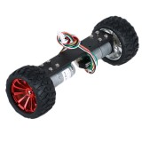 DIY JGA25-360 12V 1.25W Two Wheel Self Balancing Smart Robot Car Metal Frame Chassis Kit