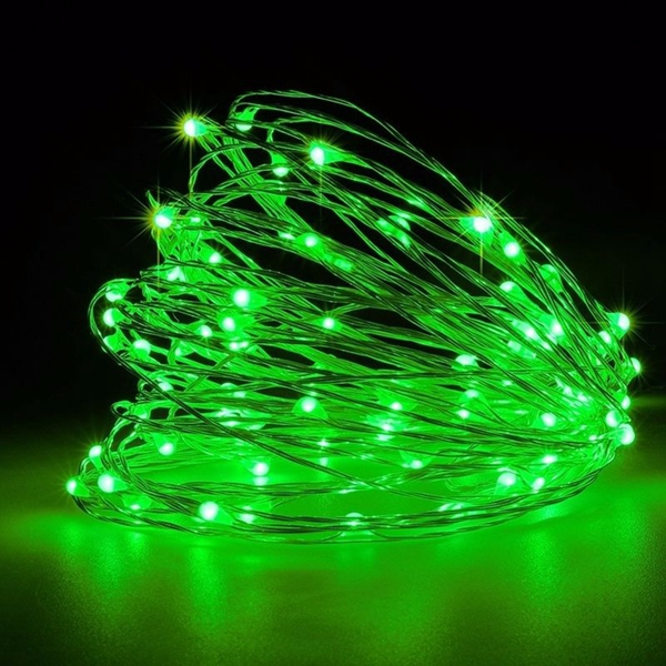 5M 50leds USB Silve Wire String Fairy Light for Wedding Xmas Party Decor