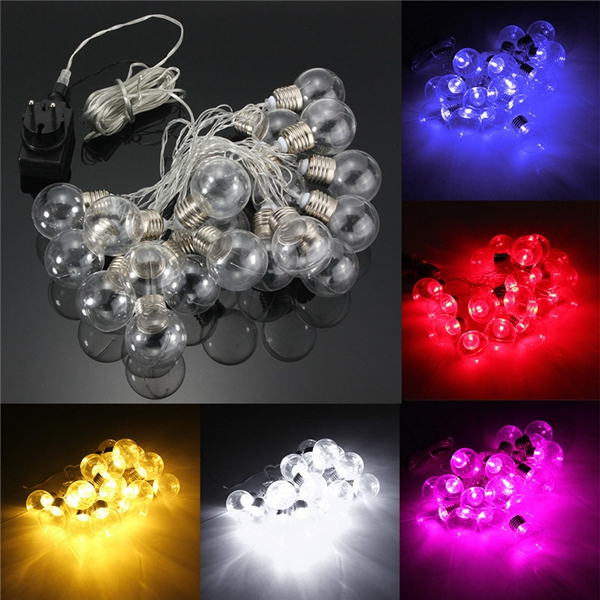 Festoon Party String Lights : 20 Piece LED Clear Festoon Party String Light Kit Connectable Vintage Style Alex NLD