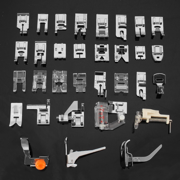 32pcs Home Sewing Machine Parts Presser Foot Feet Sew Accessories ...