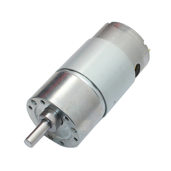 dc 12v 180rpm geared motor high torque gear reducer motor