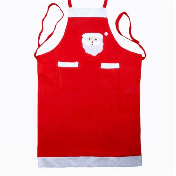 Santa claus pattern christmas apron alexnld