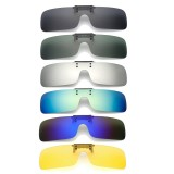 UV400 Polarized Cilp on Sunglasses Driving Riding Night Vision Lenses For Myopia Glasses
