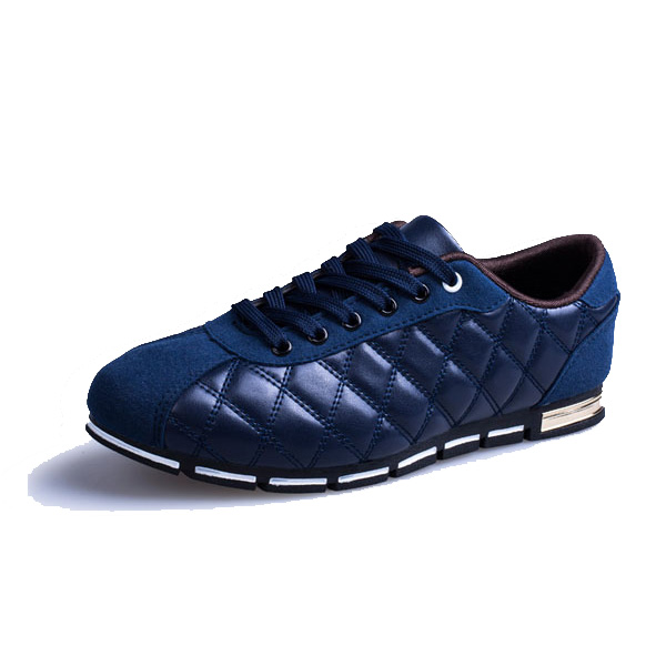 Lace Up Breathable Casual Sneakers Soft Sole Pure Color Sport Shoes