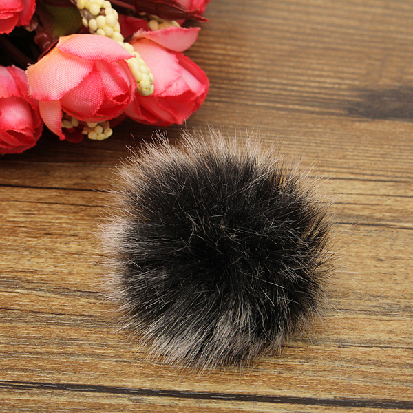 Lapel Microphone Mic Windscreen Windshield Wind Fur Muff For Lapel Lavalier