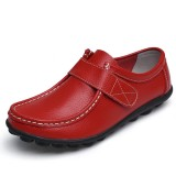 US Size 5-10 Women Flats Shoes Slip On Round Toe Outdoor Soft Loafers
