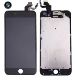 Replacement 4 in 1 for iPhone 6 Plus (Front Camera + LCD + Frame + Touch Pad) Digitizer Assembly (Black)