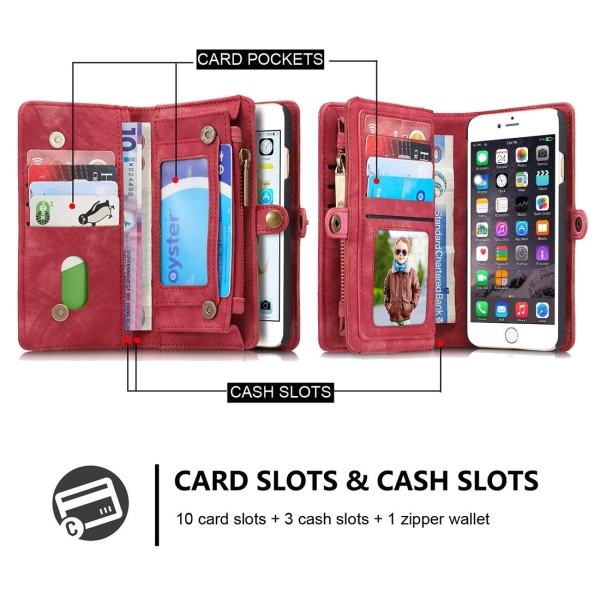 Magnetic phone bad card holder good or 10