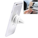 Universal 360 Degrees Rotation Car Air Vent Mount Silicone Sucker Holder Stand for Smart Phones and Tablets, Sucker Diameter: 3.5 cm, Holder Height: 4.5 cm (White)