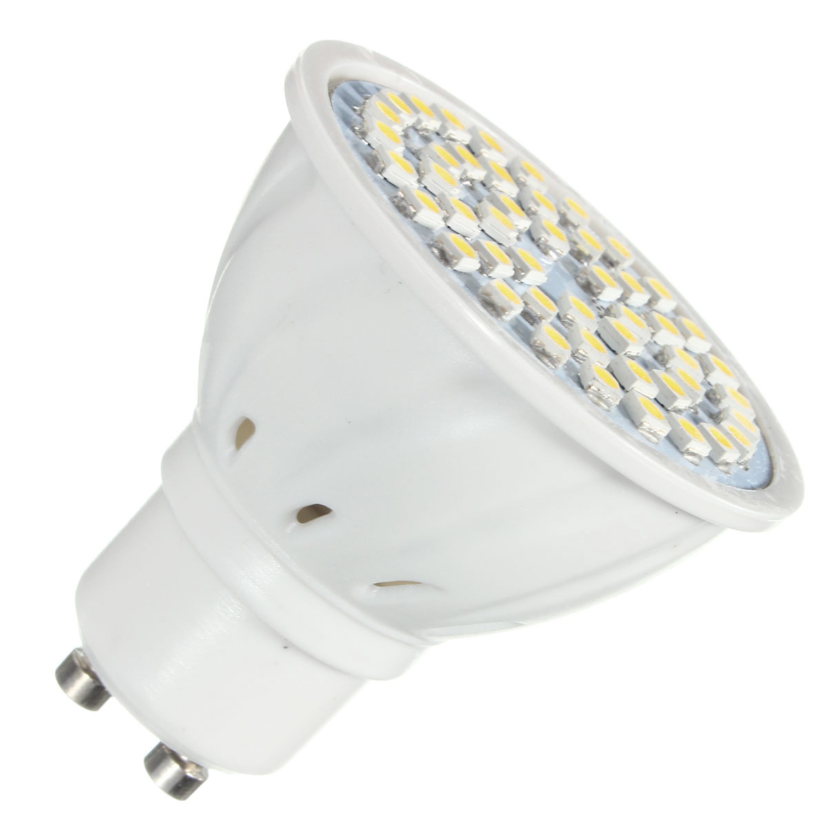 zx e27 e14 gu10 mr16 led 4w 48 smd 3528 led pure white warm white spot light lamp bulb ac110v. Black Bedroom Furniture Sets. Home Design Ideas