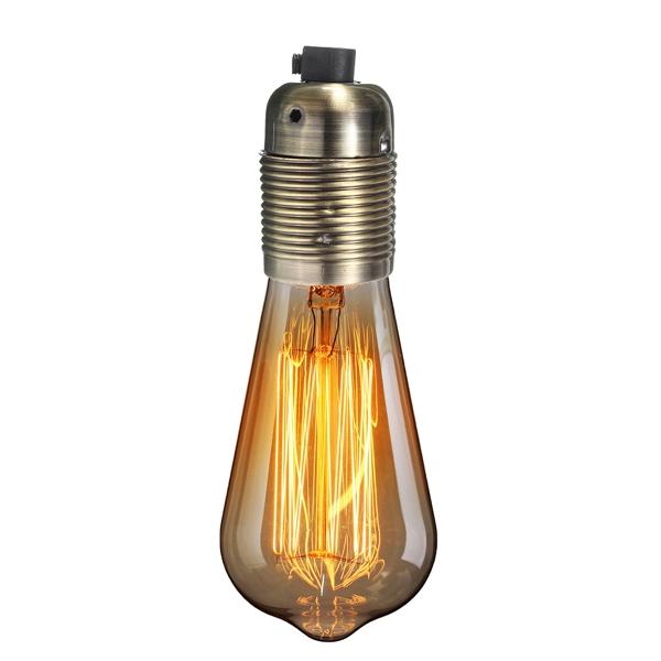 E27 Vintage Industrial Lamp Light Bulb Holder Socket Antique Retro Edison Fitting Alexnld Com