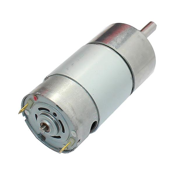 Dc 12v 300rpm geared motor high torque 37gb 550 gear for 300 rpm high torque dc motor