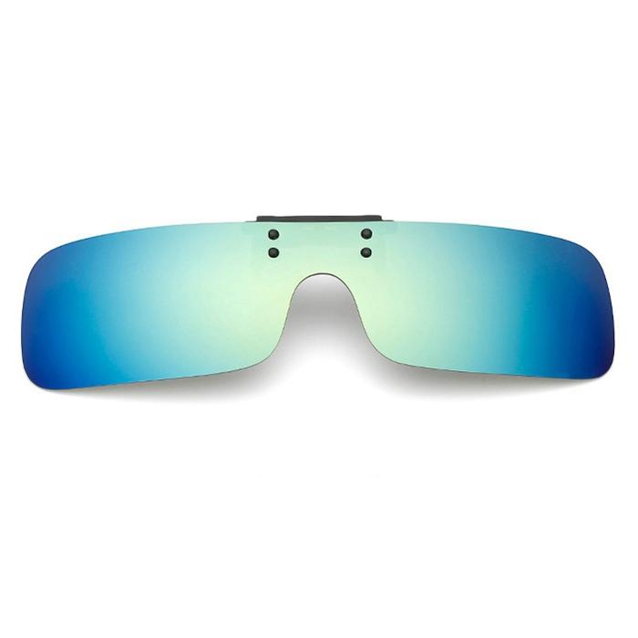 UV400 Polarized Cilp on Sunglasses Driving Riding Night Vision Lenses For Myopia Glasses