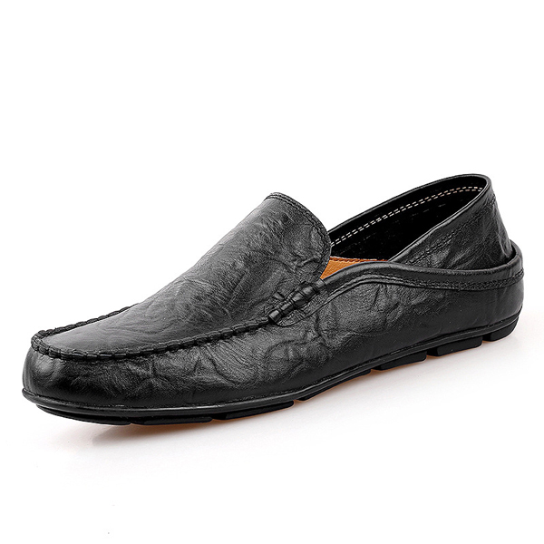 Larger Size Slip On Driving Shoes