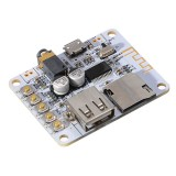Bluetooth Audio Receiver Digital Amplifier Board With USB Port TF Card Slot Decoding Play