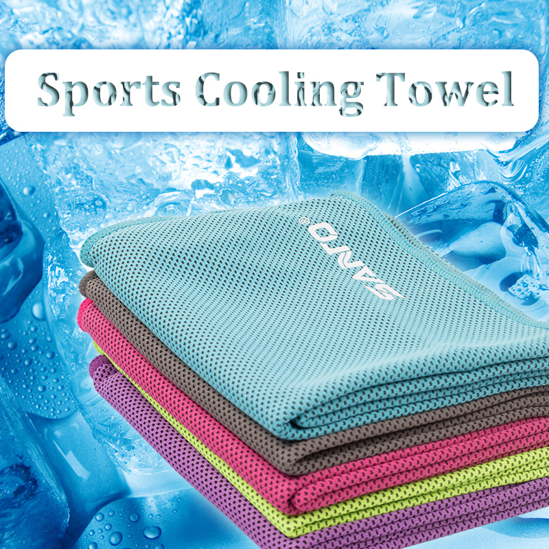 Cooling Sports Towel Review: Sports Cooling Cold Towel Summer Sweat Absorbent Towel