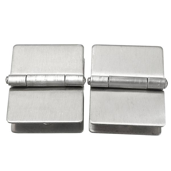 ... b0c6e679-1964-4424-aaa5-920d53a949da.jpg ...  sc 1 st  Alexnld.com & 2Pcs Glass to Glass Door Double Clamp Shower Hinges Grip Hardware ...
