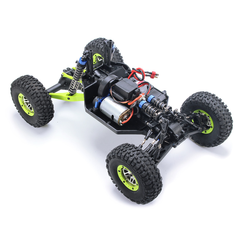 Wltoys 10428 1 10 2 4g 4wd Rc Monster Crawler Rc Car With Led