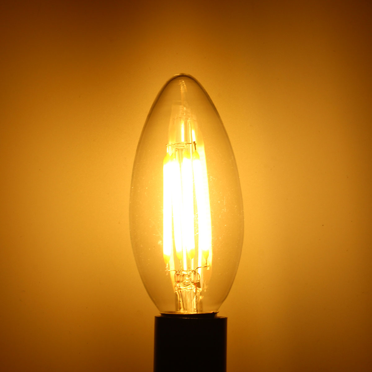 zx dimmable e14 6w led filament light glass house bulb. Black Bedroom Furniture Sets. Home Design Ideas