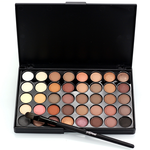 40 Colors Mini Eyeshadow Palette Set