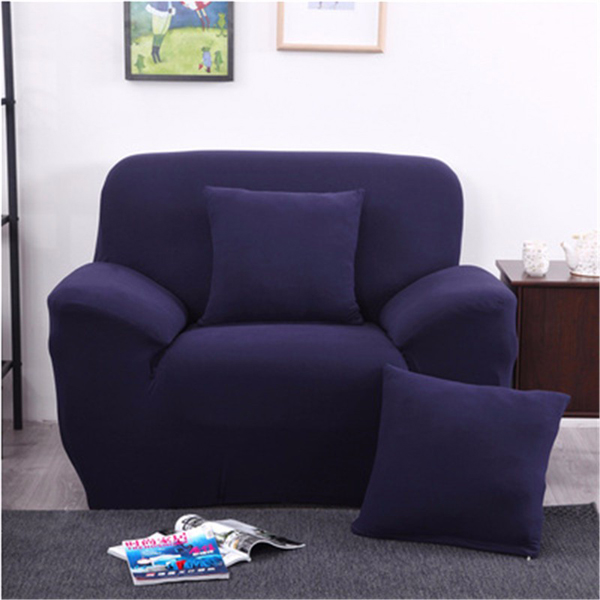 Amazing Three Seater Solid Colors Textile Spandex Strench Elastic Sofa Couch Cover Furniture Protector Gmtry Best Dining Table And Chair Ideas Images Gmtryco