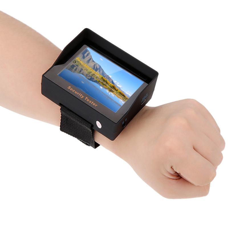 new surveillance audio video input tft color led portable test monitor cctv camera. Black Bedroom Furniture Sets. Home Design Ideas