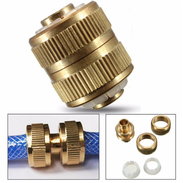 Inch cm hose adapter brass coupling quick fittings