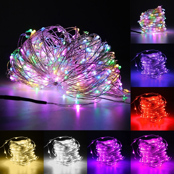 30M LED Silver Wire Fairy String Light Christmas Xmas Wedding Party Lamp 12V Alex NLD