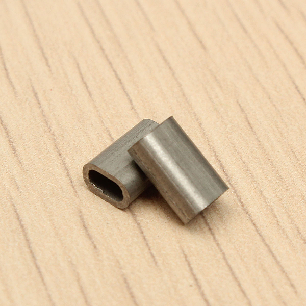 50pcs 304 Stainless Steel Cable Crimp Sleeve Ferrule For