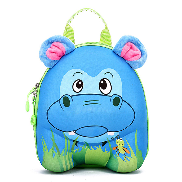 552534f4f ABS Children Kids Bags 3D Animal Cartoon Backpack Cute Casual Hard Shell  Shoulder Bag