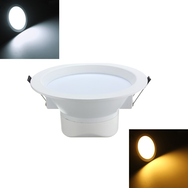 Recessed lighting to flush mount : W led flush mount recessed ceiling panel down light ac