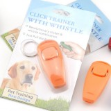 Ultrasonic Dog Pet Bird Whistle Click Clicker Obedience Training Trainer Aid Pet Supplies