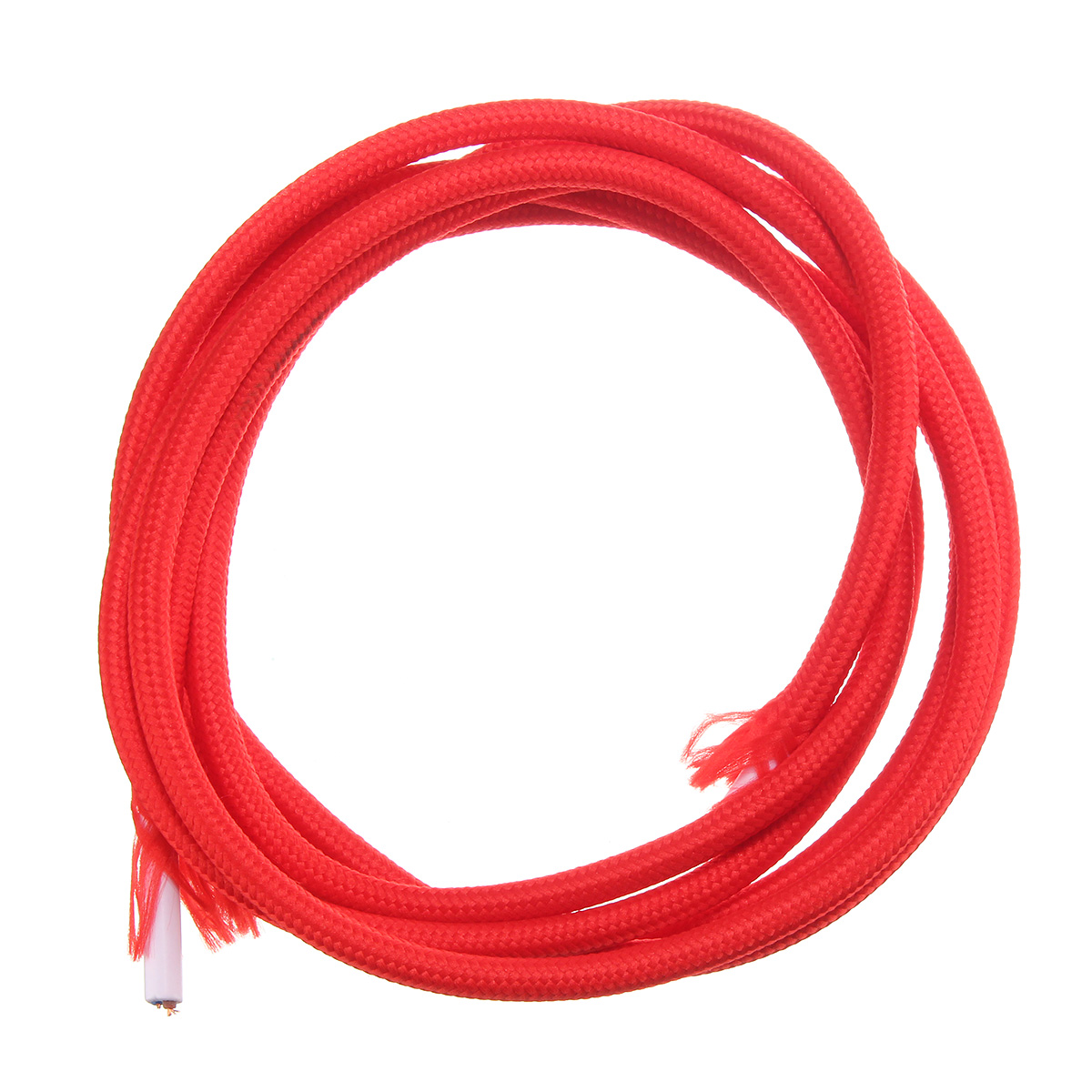 2M 2 Cord Color Vintage Twist Braided Fabric Light Cable Electric ...
