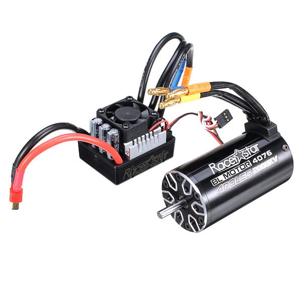 racerstar 4076 brushless waterproof sensorless motor 2000kv 120a esc for 1 8 cars rc car parts. Black Bedroom Furniture Sets. Home Design Ideas