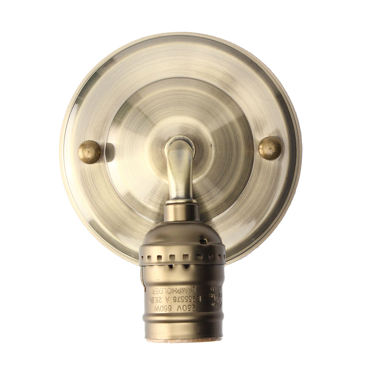 Wall Sconce With Socket Switch : E27 Antique Vintage Wall Light Simple Design Sconce Lamp Bulb Socket Holder Fixture Alex NLD