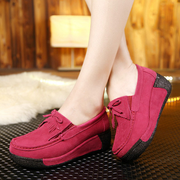Casual Lace Up Rocker Sole Shoes Breathable Soft Sole Shoes