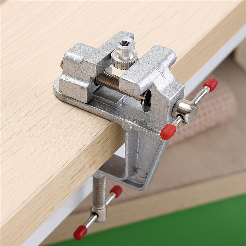 Inch aluminum mini small hobby clamp on table vise tool