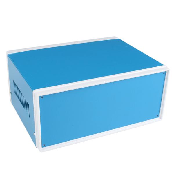 250mm x 190mm x 110mm Blue Metal Electronic Enclosures DIY Power Junction Box