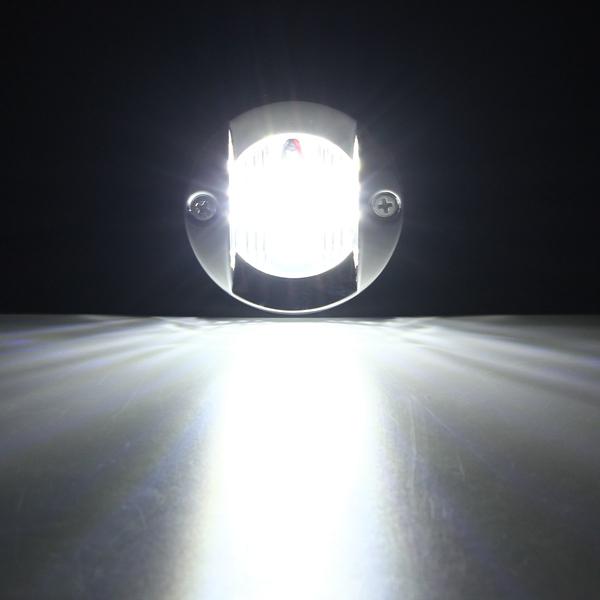 12v 2 2w 147lm Led Marine Boat Light Transom Stainless