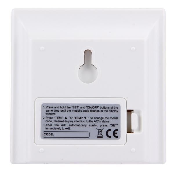 general air conditioner remote control manual