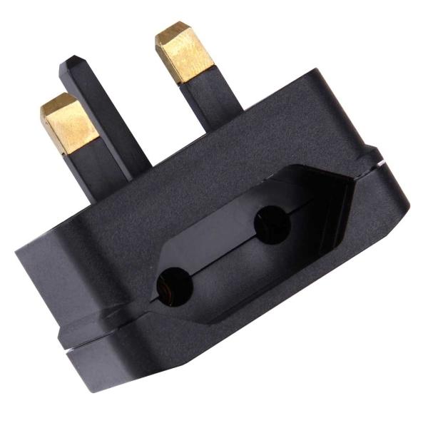 Bs 5732 Portable Eu Plug To Uk Plug Adapter Power Socket Travel Converter With Fuse Alexnld Com